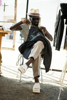 realgentlemensclub:  Art Comes First Sam Lambert | Style in Pitti Uomo, Florence