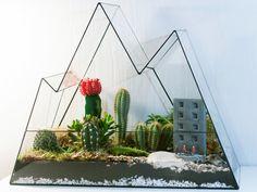 Мы делаем стеклянные флорариумы для растений, шкатулки и бетонные кашпо для суккулентов и кактусов. А ещё можем выполнить декор мероприятия или сделать букет. Живём и работаем в Москве.