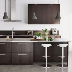 Browse our huge selection of IKEA SEKTION kitchen cabinets & cupboards that are easy to customize and combine. Decor, Kitchen Cabinets And Cupboards, Interior, Kitchen Remodel, Kitchen Decor, Kitchen Remodel Small, Home Kitchens, New Kitchen Designs, Ikea Kitchen