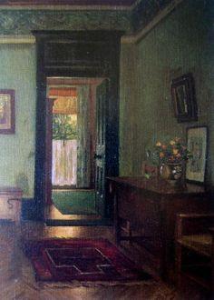 Interior Scene of the Artist's Home: Soyouthinkyoucansee;Lidsey Bernard Hall