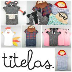 TITELAS - Marionetas hechas con mucho amor - http://petit-on.com