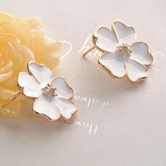 Jasmine Flower Earring from #YesStyle <3 Fit-to-Kill YesStyle.com