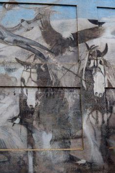 Horse mural found in Ladner Village.