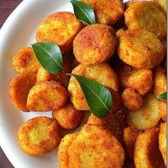Crispy yummy Taro root fry