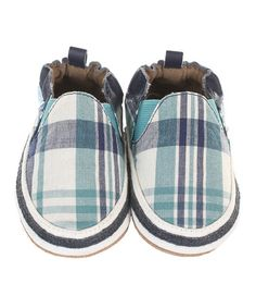 Another great find on #zulily! Navy Jackson Plaid Leather Booties #zulilyfinds