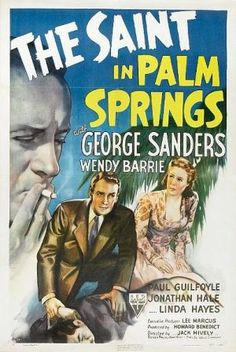 The Saint in Palm Springs - stream for free via Internet Archive.