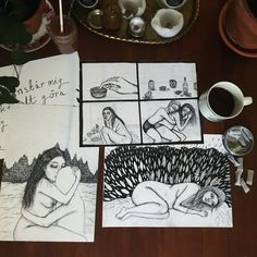 tusch, kaffe och snus - Stina Tholén