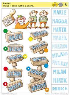 Soubor Logico Piccolo - Prostorové vnímání Pravolevá orientace Vhodné pro děti od 5 - 8 let Soubor obsahuje 16 různých karet Otáčení čtverců a trojúhelníků kolem stěžejního bodu Kolo štěstí –