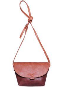 Coffee Magnetic PU Shoulder Bag