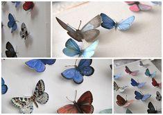 butterflies on canvas...art