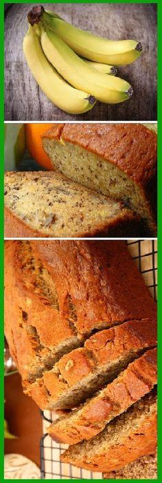 Realiza este pan de plátano sin harina, súper saludable y rico! #panplatano #panbanana #platano #banana #saludable #sinharina #sano #comohacer #pancasero #comohacer #lomejor #masa #tachnift #bread #breadrecipe #pan #panfrances #pantone #panes #pantone #pan #receta #recipe #casero #torta #tartas #pastel #nestlecocina #bizcocho #bizcochuelo #tasty #cocina #chocolate Si te gusta dinos HOLA y dale a Me Gusta MIREN …