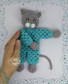 Best 12 This is a pdf tutorial (not the finished creation) ********************************** the lovey measures about 8 – 9 inches ********************************** Tutorial created in june 2019 by You can sell the finished character by indi Marque-pages Au Crochet, Crochet Lovey Free Pattern, Granny Pattern, Bobble Crochet, Crochet Amigurumi, Crochet Gifts, Crochet Dolls, Crochet Patterns, Crochet En Relief