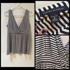 NWOT Banana Republic Tank Top Super cute tank! In like-new condition. Perfect for the summer time! I'm open to offers  Banana Republic Tops Tank Tops