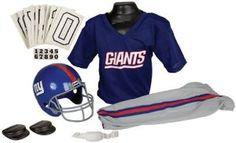 NFL New York Giants Boy's Uniform Set, Medium