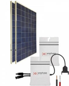 Kit Solar Red 2700Whdia con Microinversor Kit Solar, Pergola, Red, Home Decor, Licence Plates, Alternative Energy, Solar Power, Recycling, Decoration Home