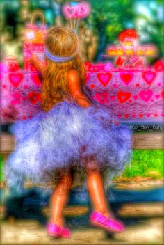 Princess Presley ( Cuz She's Crafty Photography) #cuzshescrafty #princess #valentinesday #valentines #pink #red #hearts #picnic #girly