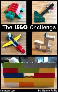 Kids and adults will love this lego challenge game. Things To Do Inside, Fun Things, Stem Activities, Educational Activities, Challenge Games, Lego Games, Lego Stuff, Bright Future, Sensory Play