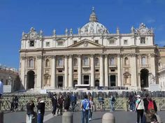 St Peter's Basilica it is soooo cool! i have to go there one day!!!!!!!!!!!!!! :)