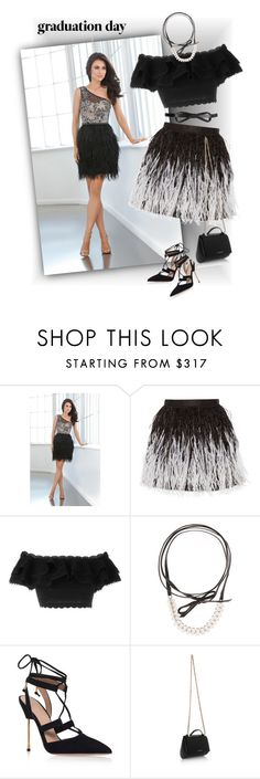 """""""Graduation Day Dress"""" by ysmn-pan ❤ liked on Polyvore featuring Alice + Olivia, Alexander McQueen, Lanvin, Fallon, Kurt Geiger, Givenchy, contest and graduationdaydress"""