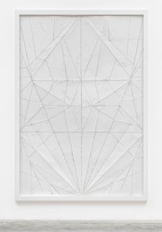 KC- quilting the fold lines of a paper airplane or other object Massimo Bartolini, Airplane, 2008 Art Prints, Inspiration, Illustration Art, Geometric, Art Inspiration, Contemporary Art, Paper Art, Textures Patterns, White Art