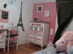 Creation Station: Pink Poodle in Paris Big Girl Room