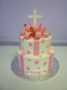 First Communion Cakes by Erin Alden, via Behance