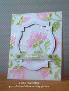 Today I have another card for Altenew's July Inspiration challenge .      For this card I stamped two of the images from Persian Motifs onto...