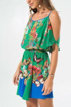 VESTIDO EL FADA Boho Outfits, Casual Outfits, Summer Outfits, Summer Dresses, Fashion Moda, Womens Fashion, Light Dress, One Piece Dress, Couture