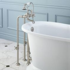 Floor Mount Faucet For Clawfoot Tub