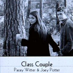 Pacey Witter. Joey Potter. Joshua Jackson. Katie Holmes. Dawson's Creek.