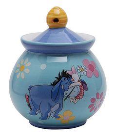 Another great find on #zulily! 6-Oz. Winnie the Pooh Hug A Friend Sugar Jar #zulilyfinds