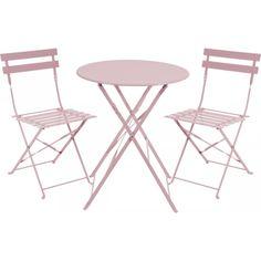 Kafesett Bistro pink 2+1