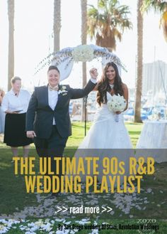 The Ultimate 90s RB Wedding Playlist