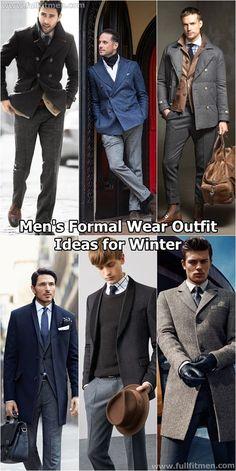 men's formal wear outfits