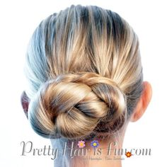 Easy Bun Hairstyles Pleasing Pretty Hair Is Fun 3 Easy Bun Hairstyles Under 5 Minutes  Hair And