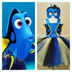 Unique costume and tutu sets at affordable prices for your next party, birthday or Halloween. Halloween Costumes To Make, Halloween Kids, Nemo And Dory Costume, Under The Sea Costumes, Baby Christening Outfit, Fish Costume, Tutu Costumes, Costume Ideas, Ballet