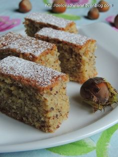 A tester cet hiver . Sweet Recipes, Cake Recipes, Dessert Recipes, Patisserie Cake, Hazelnut Cake, Hazelnut Recipes, No Cook Desserts, Cupcake Cakes, Cake Fondant