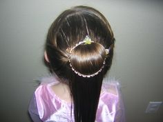 PrincessHairstyles.com - Belle Hairstyle From Disney's Beauty and The Beast! (Halloween)