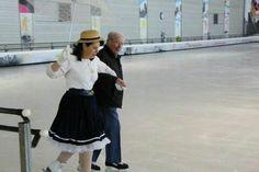 """thème  : """"guinguette sur les bords de la Marne"""" pour fêter les 80 ans d'André mon partenaire de la glisse pour le plaisir !"""