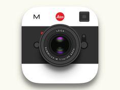 Leica M Icon - by Sang Jeon | #ui Ui Design, Icon Design, Leica M, Ui Ux, Inspire, Icons, Symbols, User Interface Design, Ikon