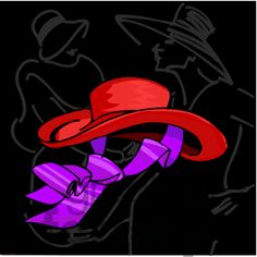 Royalty-Free red-hat-3 Clipart Image, Picture Art # 376957