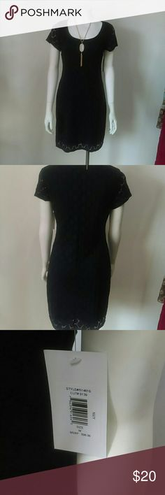 NWT Isaac Mizrahi Navy Eyelet Dress BRAND NEW WITH TAGS Isaac Mizrahi Navy Blue Eyelet Dress will make a classy addition to your summer wardrobe and will transition into the fall. (Necklace sold separately) Isaac Mizrahi Dresses