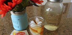 Sweet Tea Syrup