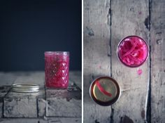 pickled pink onions