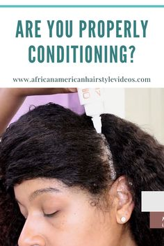 Mo is the only professional who's dropping knowledge about how to properly use conditioners! Natural Hair Growth, Natural Hair Styles, African American Hairstyles, Hair Videos, Pretty Hairstyles, Cleanse, Black Hair, Your Hair, Hair Care