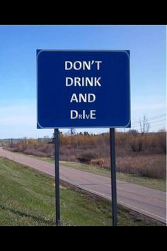 DO NOT DRIVE DRUNK EVER  DRUNK DRIVER SMASHES SIGNS AND MULTIPLE CARS http://ift.tt/2geUyFM