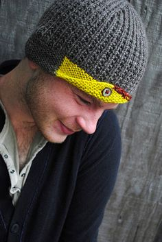 Love this one! And love the patterns by Stephen West.   Free patterns, patterns for purchase and info about his books here: http://westknits.com/