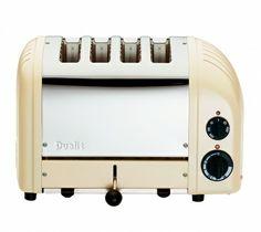 Utility cream 4 Slice Toaster   The Original 4 Slot NewGen From Dualit