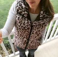 #cabi – We adore our Juliet Puffer vest just as much as Andrea of @mommainflipflops