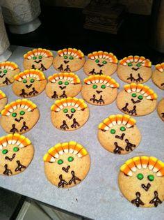 Cute Thanksgiving Dessert for kids